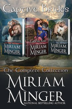 The Captive Brides Collection by Miriam Minger
