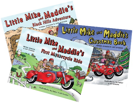 Little Mike and Maddie Autographed Set by Miriam Minger