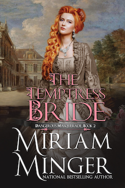 The Temptress Bride by Miriam Minger
